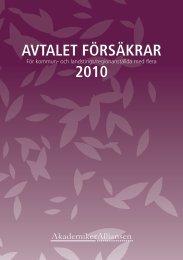 AVTALET FÖRSÄKRAR 2010 - Sveriges ingenjörer