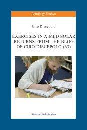Astrology Essays - Exercises 063.pmd - cirodiscepolo.it