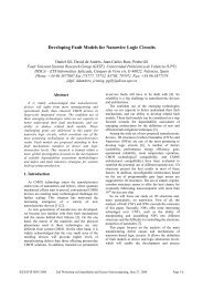 SER Characterization of an Advanced Network Processor using ...