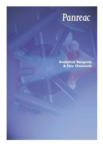 Analytical Reagents & Fine Chemicals