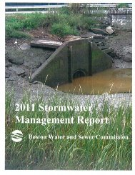 2011 Stormwater Annual Report - Boston Water and Sewer ...