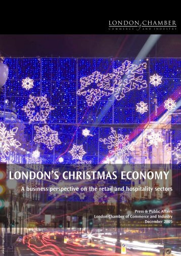 london's christmas economy - London Chamber of Commerce and ...