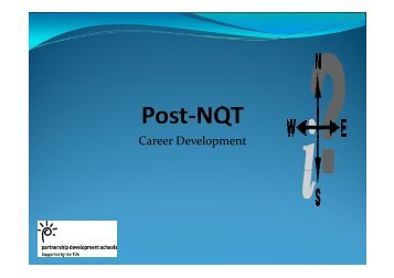Career Development Post NQT.pdf - Graduate School of Education