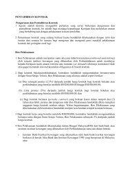 PENTADBIRAN KONTRAK Pengurusan dan Pentadbiran Kontrak 1 ...
