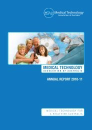 2011 MTAA Annual Report - Medical Technology Association of ...