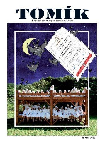Tomík říjen 2006 - Pro členy - Asociace TOM