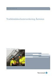 Rapport Trafikksikkerhetsvurdering Åsveien - Sandnes Kommune
