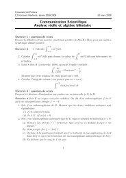 Colle 7 - Université de Poitiers