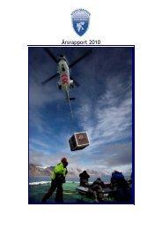 Årsrapport 2010 - Sysselmannen
