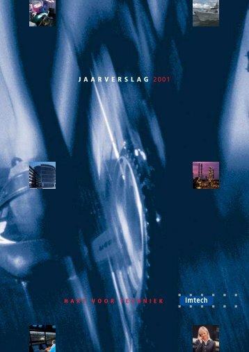 JAARVERSLAG 2001 - Imtech