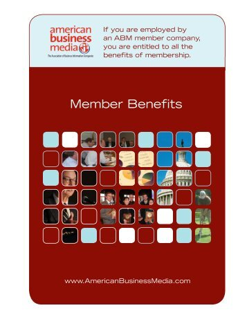 Member Benefits - American Business Media
