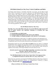 law day essay contest 2010
