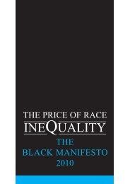 The Black Manifesto 2010 - One East Midlands
