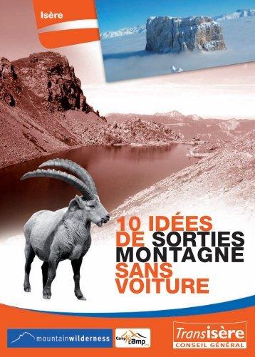 10 IDÉES DE SORTIES MONTAGNE SANS VOITURE - Transisère