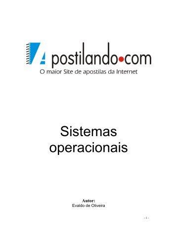 Sistemas operacionais - Quimica.ufpb.br