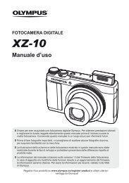 Manuale d'uso - Olympus - Europe