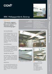 RRK Wellpappenfabrik - Colt International GmbH, Kleve
