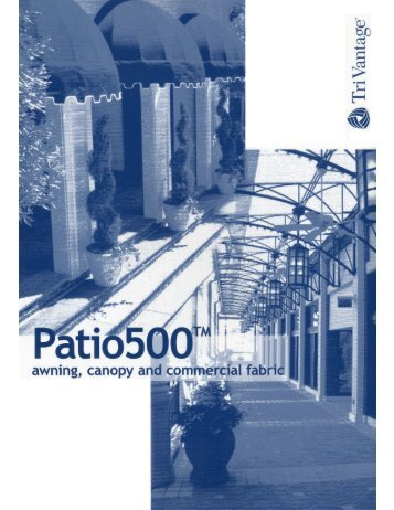 Patio 500 - Eide Industries, Inc.