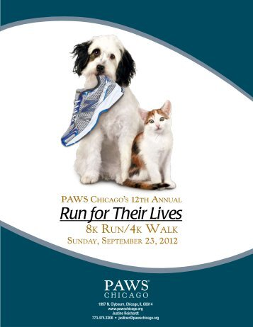 Run for Their Lives - PAWS Chicago