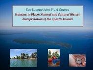 Apostle Islands Power Point - Northland College Academics