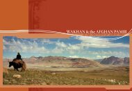 WAKHAN & the AFGHAN PAMIR - Aga Khan Development Network