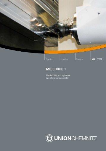 MILLFORCE 1 - UNION Werkzeugmaschinen GmbH Chemnitz