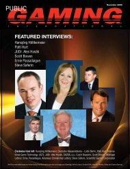 November issue - Public Gaming Research Institute / Public Gaming ...
