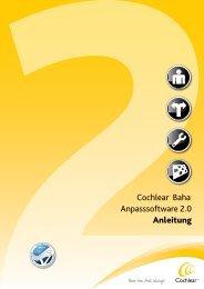 Anleitung Anpass-Software - Cochlear Baha