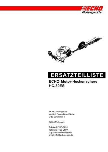 HC-30ES - Gartentechnik-Bremen