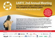 LARTC 2nd Annual Meeting - Global Technology Forum