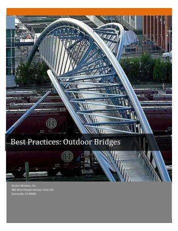 Best Practices: Outdoor Bridges - Connect Data