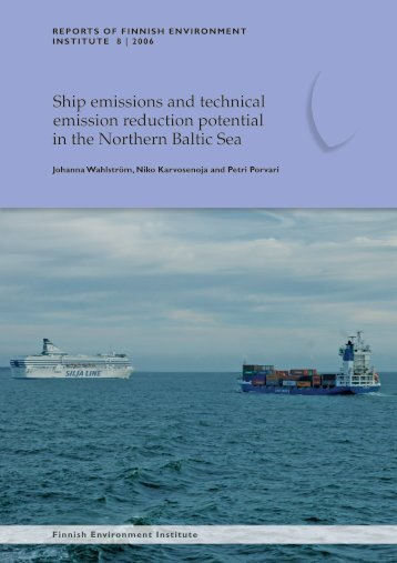 2006 Wählstrom Ships emissions & technical emission reduction ...
