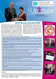 Issue 20 - Southern Health and Social Care Trust