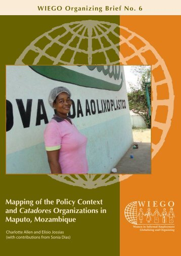 Mapping of the Policy Context and Catadores Organizations - WIEGO