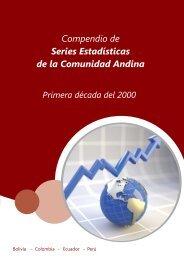 compendio de series estadisticas de la comunidad andina - Intranet