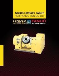 Nikken Rotary Tables for Fanuc Robodrill
