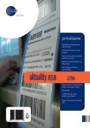 aktuality 858 2/2006 - GS1 Slovakia