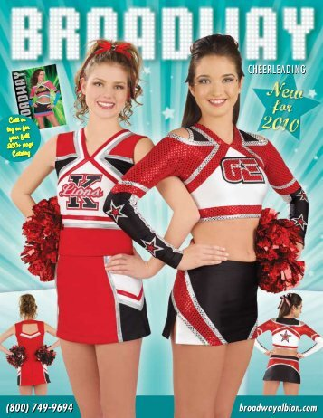 to download the entire 2010 Mini Catalog - Broadway Cheerleading