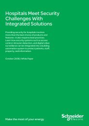 Hospitals Meet Security Challenges With ... - Schneider Electric