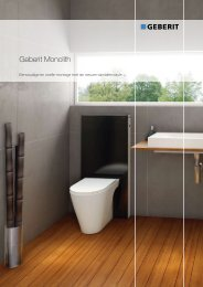 Geberit Monolith - Products