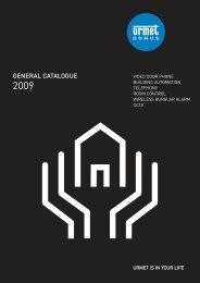GENERAL CATALOGUE - Urmet