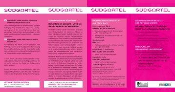 Informationsfolder Februar 2013 - Stadtentwicklung Graz