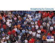 Strengthening Our Community - United Way