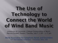 download the slides from their presentations - World Association for ...