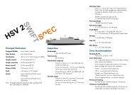 HSV 2 Swift Spec - Incat
