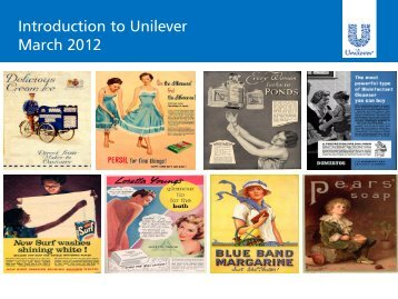 Introduction to Unilever presentation