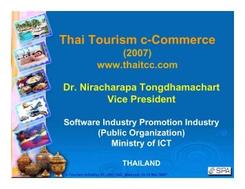 Thai Tourism c-Commerce - Unctad XI