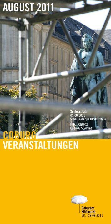 coburg veranstaltungen august 2011 - inFranken.de
