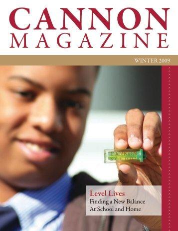 Level Lives - Cannon School