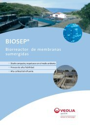 biosep® - Veolia Water Solutions & Technologies